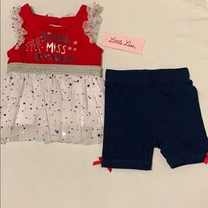 Infant Fourth of July outfit